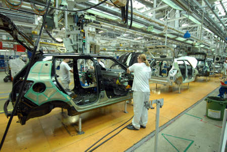 Photo pour car production line - image libre de droit