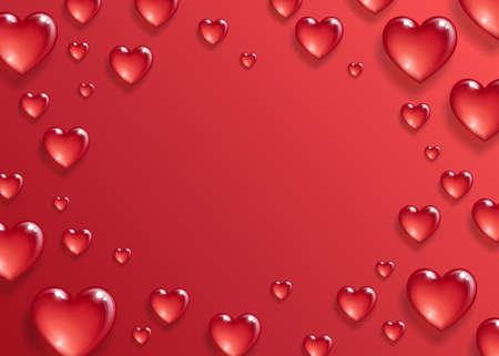 Photo pour Valentines day background. - image libre de droit