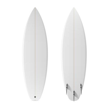 Ilustración de Blank surfboard - Imagen libre de derechos