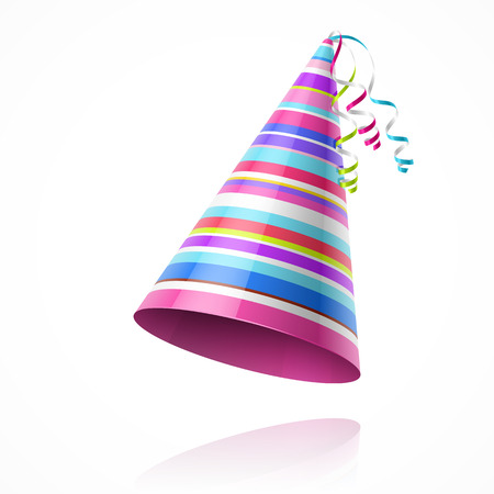 Illustration pour Party hat - image libre de droit