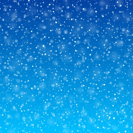 Illustration for Falling snow  - Royalty Free Image