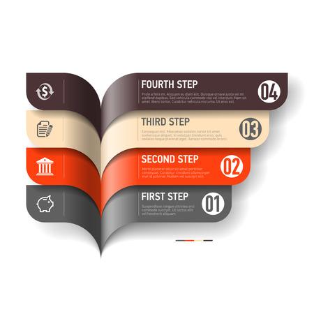 Illustration pour Infographics elements - image libre de droit