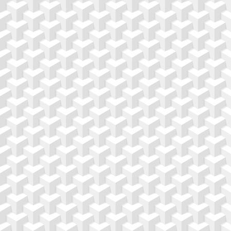 Foto de White geometric texture  Seamless illustration  - Imagen libre de derechos