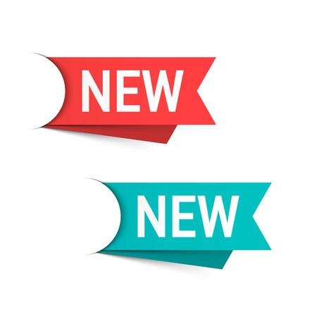 Illustration pour New labels - image libre de droit