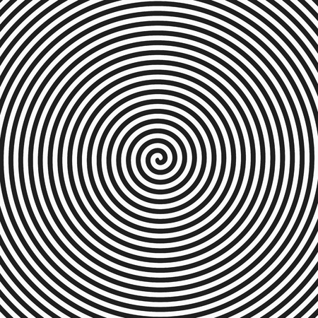 Illustration for Hypnosis spiral background - Royalty Free Image