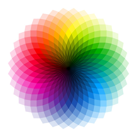 Illustration pour Color wheel - image libre de droit
