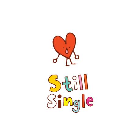 Ilustración de still single - Imagen libre de derechos