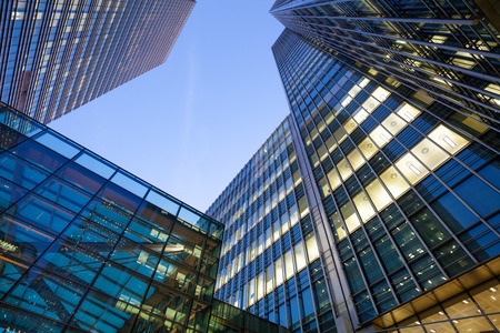 Foto de Business Office, Corporate building London City, England - Imagen libre de derechos