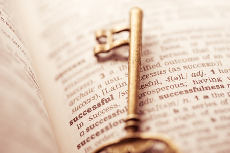 Photo pour Business success key concept idea and innovation - image libre de droit