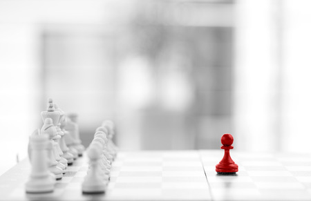 Foto de Chess business concept success & strategy - Imagen libre de derechos