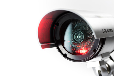 Photo for Security CCTV camera in office building - Royalty Free Image
