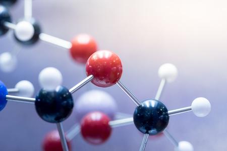 Foto de DNA, Molecule, Chemistry in laboratory lab test - Imagen libre de derechos