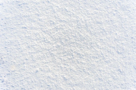 Foto de White snow texture, winter background - Imagen libre de derechos