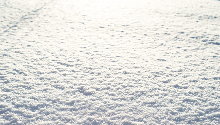Foto de Winter texture of snow, shiny snowflakes, background - Imagen libre de derechos