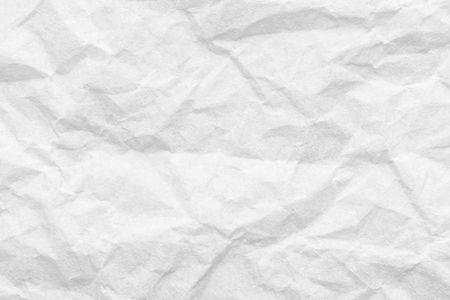 Photo pour Cresed paper, white background texture - image libre de droit