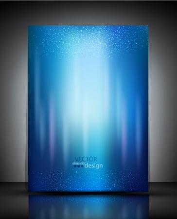 Ilustración de vector pattern blue booklet - Imagen libre de derechos