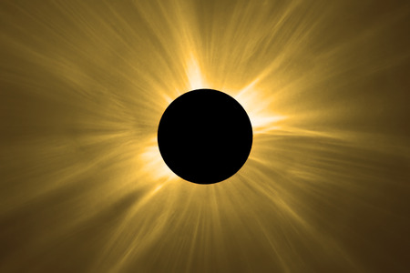 Photo for Total Solar Eclipse. - Royalty Free Image