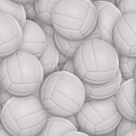 Volleyballs Seamless Texture Tile