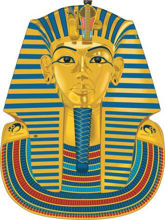 Illustration for Tutankhamen Illustration - Royalty Free Image