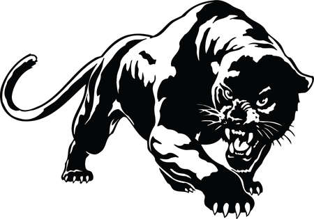 Ilustración de Panther Illustration - Imagen libre de derechos