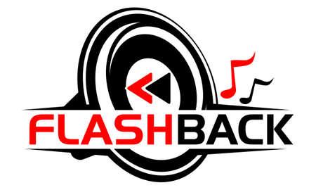 Illustration pour Audio Video Service Production icon logo Vector illustration. - image libre de droit