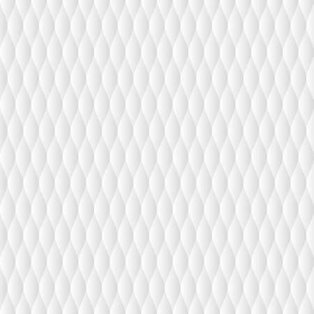 Illustration for Soft quilt seamless pattern. Neutral white tileable vector background. - Royalty Free Image