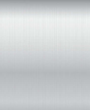 Brushed metal plate background.