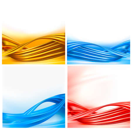 Collection of colorful abstract backgrounds.