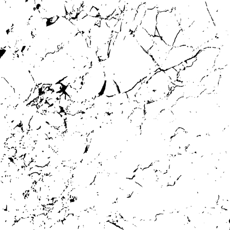 Illustration for Grunge marble texture white and black. Sketch pattern to Create Distressed Effect. Overlay Distress grain monochrome design. Stylish modern background for different print products. Vector illustration - Royalty Free Image