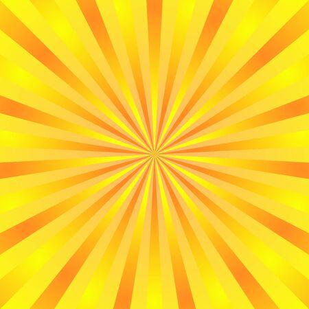 Ilustración de Yellow background superhero. Super hero cartoon gradient texture. Sun rays burst. Radiate sun beam, burst effect retro. Sunbeam light flash boom. Template sunlight starburst poster Vector illustration - Imagen libre de derechos