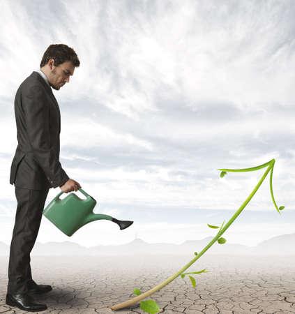 Foto für Concept of growth of a company - Lizenzfreies Bild