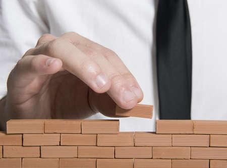 Photo pour Concept of build a company - image libre de droit