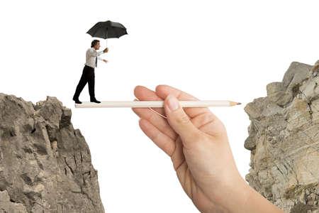 Foto de Concept of help in your business - Imagen libre de derechos