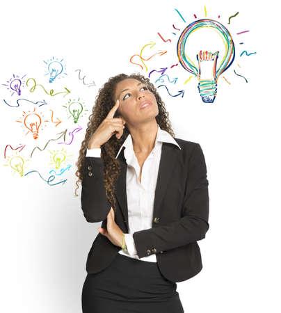 Foto de Concept of creating a great idea - Imagen libre de derechos