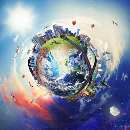 Foto de Global view of business world.  - Imagen libre de derechos