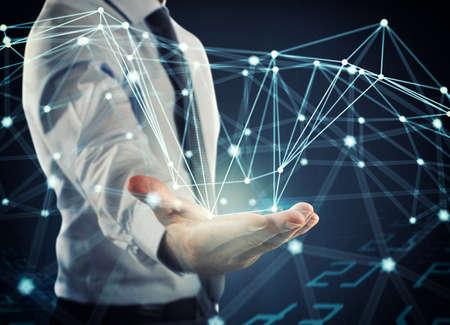 Photo pour System of interconnection of network - image libre de droit