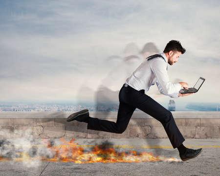 Foto de Fast business concept - Imagen libre de derechos