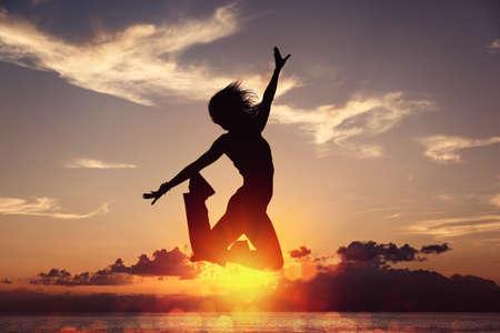 Photo pour Freedom is happiness - image libre de droit