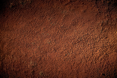 Photo for Image of red soil texture - Royalty Free Image