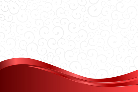 Ilustración de Background pattern white grey with red lines vector - Imagen libre de derechos