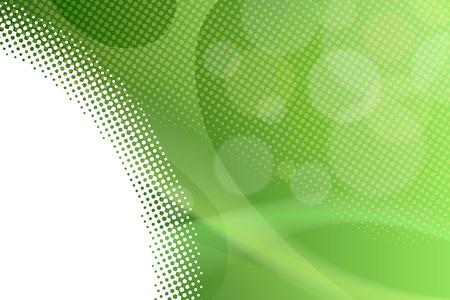 Ilustración de Abstract background gradient green lines circles vector - Imagen libre de derechos
