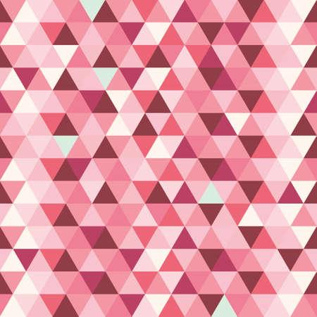 Ilustración de Triangles pattern abstract colorful background - Imagen libre de derechos