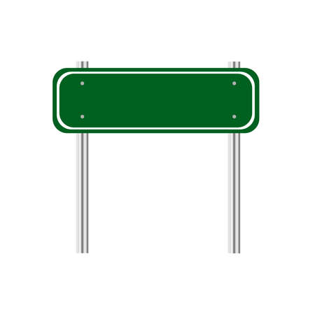 Illustration pour Index on a green background - image libre de droit