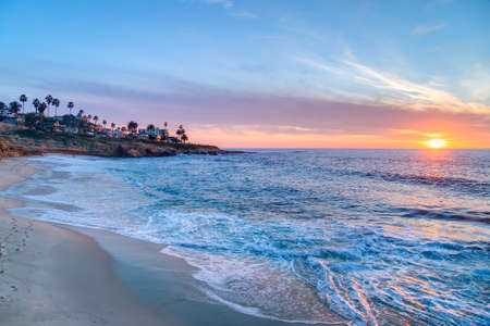 Photo for Magnificent sunset in La Jolla California - Royalty Free Image