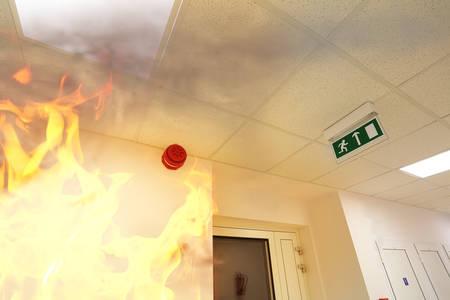 Foto de Fire alarm! - Imagen libre de derechos