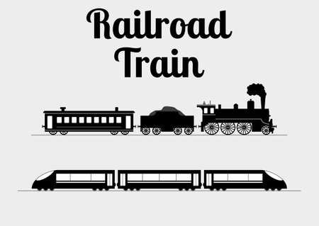 Ilustración de Vector illustration of a train. - Imagen libre de derechos