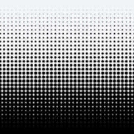 Ilustración de Halftone dots on white background - Imagen libre de derechos