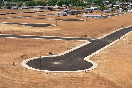 Photo pour Desert land development in Utah - image libre de droit