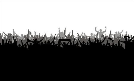 Illustration pour Poster for sports championships and concerts - image libre de droit
