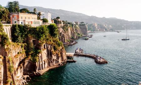 Foto de Coast of Piano di Sorrento. Italy - Imagen libre de derechos